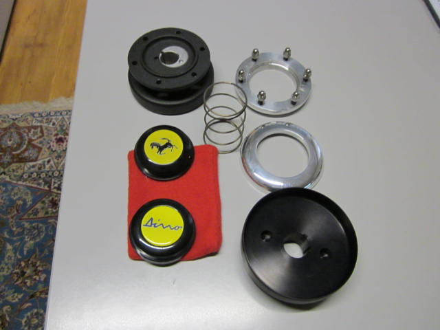 Steering Wheel Hub With Dino Ferrari Horn Button