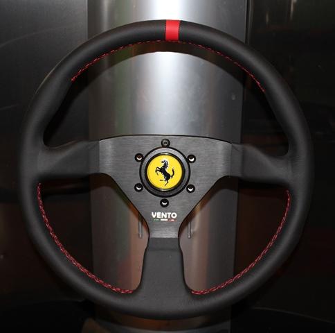 ferrari steering wheel. Black Bedroom Furniture Sets. Home Design Ideas