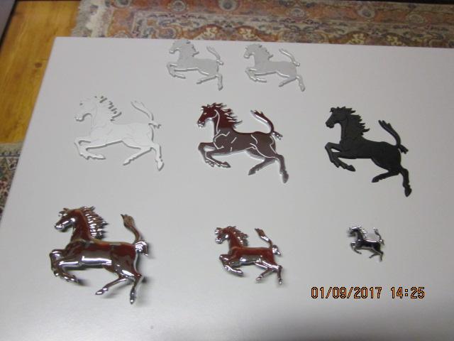Ferrari Prancing Horse Badge