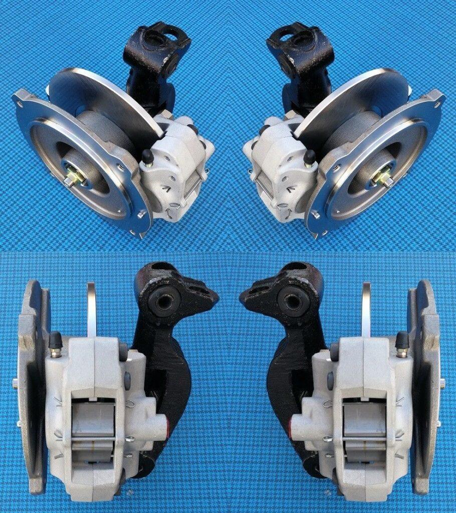 Fiat 500 F-L-R, front disk brakes for Fiat 500 F-L-R